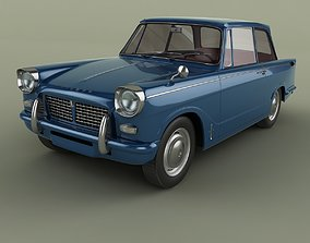 Triumph Herald 1200 Saloon 3D