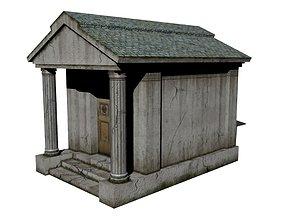 3D asset Old Mausoleum