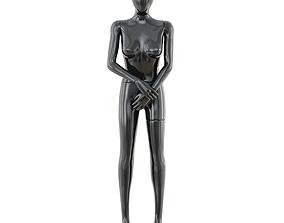 Faceless woman mannequin 39 3D