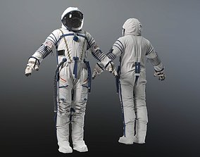 3D model Sokol SK 2 SPACE SUIT