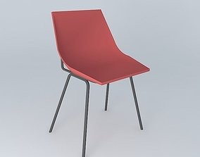 GUARICHE red chair 3D model