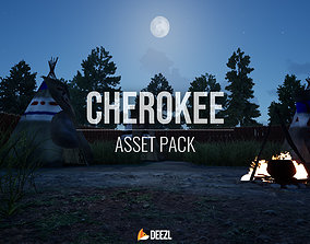 3D model Cherokee - Asset Pack - Unreal Engine UE4