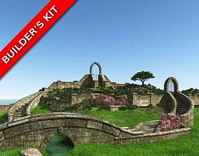 3D English Garden Masonry Builders Kit