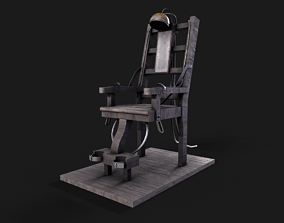 3D model Electric Chair