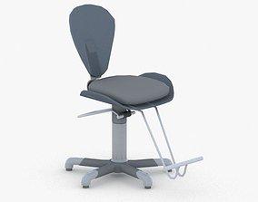 3D model 0901 - Hairdresser Chair