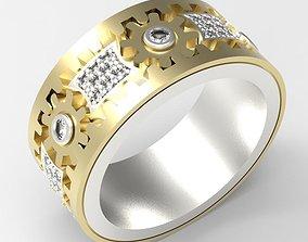 wedding ring 3d models download 3D print model 3D print