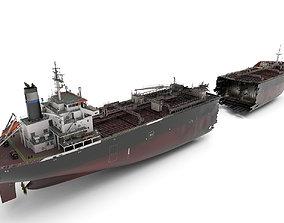 Shipwreck cargo 3D