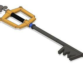 3D printable model Kingdom Hearts Keyblade