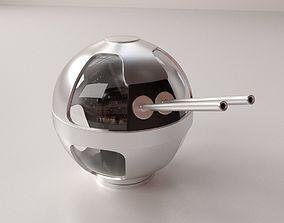 Turret 3D model gunhouse