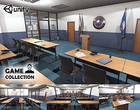 Police Conference Room 3D asset