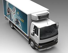 Heavy commercial truck 3D model