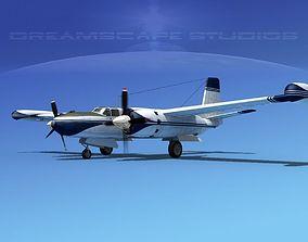 3D model Douglas B-26L Marketeer V02