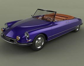3D model Citroen DS 19 Cabriolet