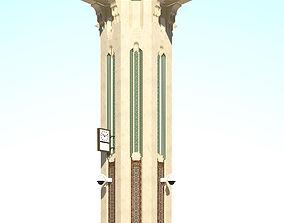 islamic column 3D model VR / AR ready