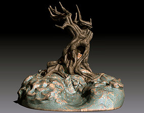 3D printable model The UnDying Tree