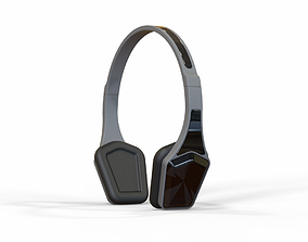 Bluetooth Headset stereo 3D model