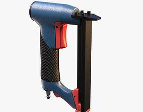 Pneumatic Staple Gun 3D model for 3ds Max game-ready