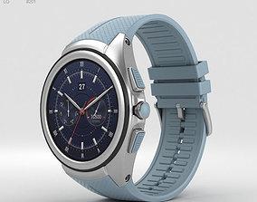 LG Watch Urbane 2nd Edition Opal Blue 3D