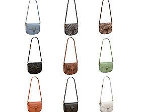 3D Christian Dior Medium Bobby Bag