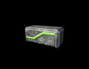 Box Power Up 3D asset