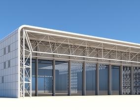 3D Warehouse Building modern