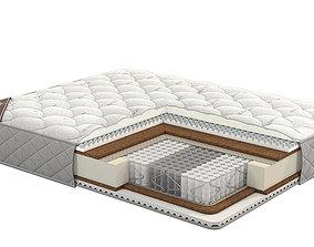 comfortable 3D model Mattresses