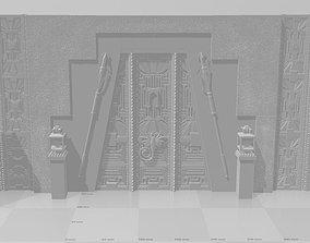 3D print model AVP Diorama Grid Alien vs Predator
