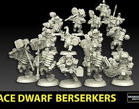 3D print model Astroknight Dwarves Berserkers