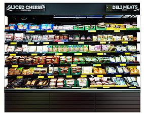market Cheese Fridge 3D model