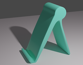 printready 3D printable model Phone Holder