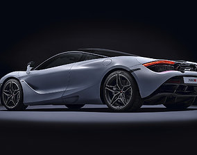 MC LAREN 720s CONCEPT CAR 3D model