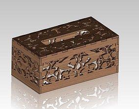 3D model Hummingbird Tissue Box