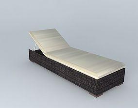 3D model BALI sun bathing houses the world