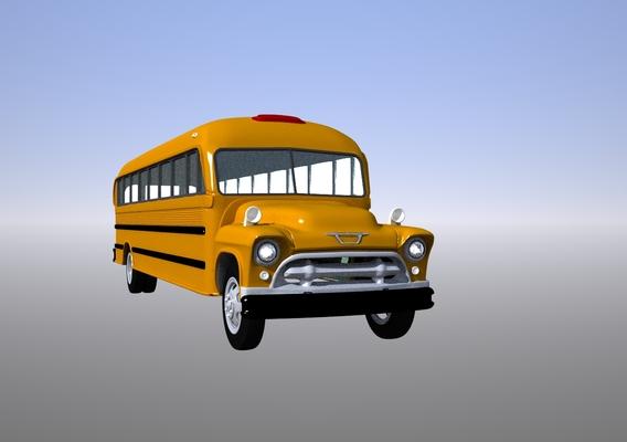 1950's School Bus
