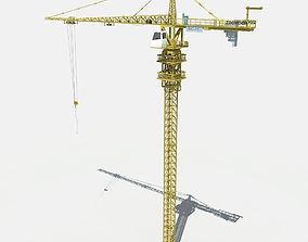 Tower Crane 3D model equipment