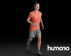 3D Humano Running Man 0803
