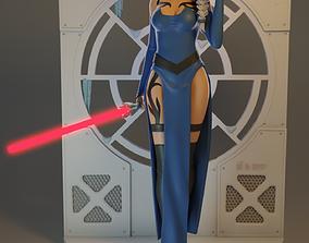 3D printable model Darth Elsa and Jedi Anna Combo