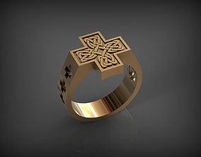 Celtic Ring STL 3D printable model