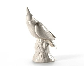 3D Parrot Cockatoo Decoration