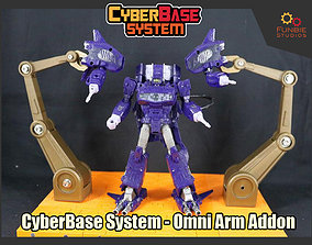 3D printable model CyberBase System Omni Arm Addon