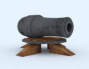 3D print model coc cannon level 1