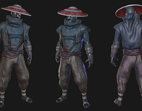 Ninja 3D model rigged realtime