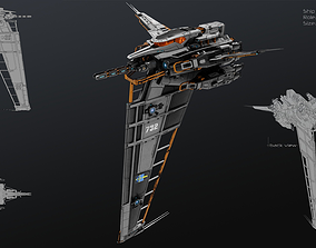 3D model Vertical Fighter