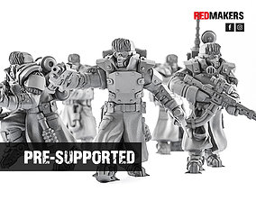 Ice Warriors - Elite squad of the Imperial 3D print model
