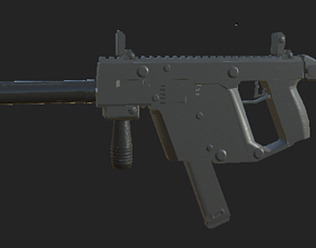 Kriss Vector 3D model game-ready military