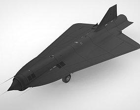 3D model lockheed D-21