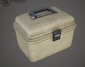 3D asset Plastic Tool Box