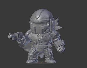Bounty Hunter 3D printable model