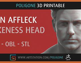 Ben Affleck Head - 3D Printable 3d