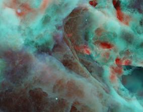nebula galaxy 3D model